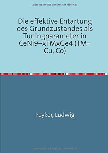Die effektive Entartung des Grundzustandes als Tuningparameter in CeNi9-xTMxGe4 (TM=Cu, Co)