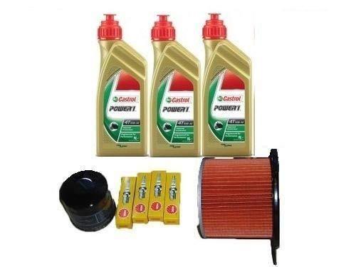 MGM Tecneco Kit Honda Transalp 600 Huile Castrol Filtre huile Air bougies