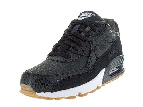 Nike Wmns Air Max 90 Prem, Chaussures Sport Femme Noir / Noir-noir-blanc (noir / Noir-noir-blanc)