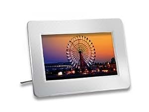 Transcend Digitaler Bilderrahmen (17,78 cm (7 Zoll) Display, Kartenslot, 16:9, USB 2.0) weiß