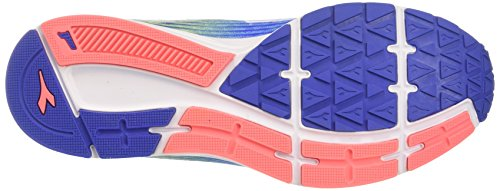 Bleu Action Blu 3 Chaussures Blu Azzurro Femme Nautico de Running W Diadora Ap1wxA