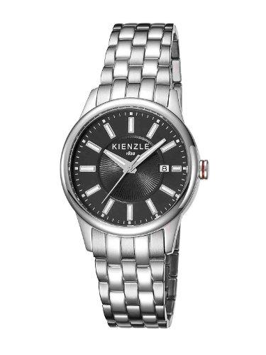 Kienzle KIENZLE K3042013122 - Reloj analógico de cuarzo para mujer, correa de acero inoxidable color plateado