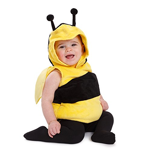 (Dress Up America Kinder kleine Biene Outfit Fuzzy Bee Kostüm)