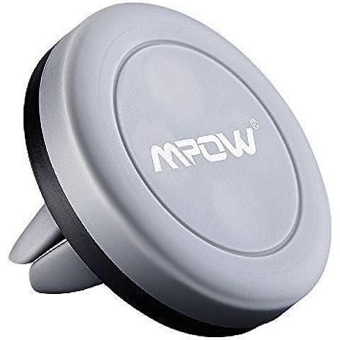 Soporte Magnético de Movíl para Rejillas del Aire de Coche, Mpow Grip Magic Car Mount Universal para iPhone 7/6 Plus/6s/6/SE y Android Smartphone GPS Navegador
