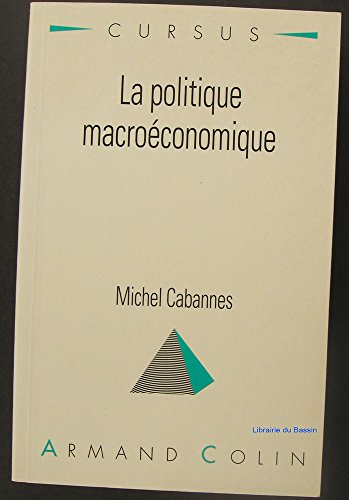 La politique macroconomique
