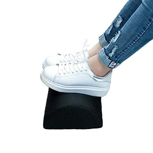 Surenhap Kissen aus Schaumstoff, Kissen, Bein, Klammern, für Nacken, unteren Rücken, Knie, Beine, Füße in Fast jeder Position Schwarz -