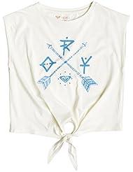 Roxy Rock G Tees WCD0 - Camiseta para niña, multicolor, talla 16/XXL