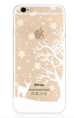 Designer Style iPhone 6/6S klar Paisley Retro Vintage Boho Dream Catcher Chic Soft TPU Case/Cover von im, plastik, winter1, iPhone 6 (Paisley Chic)