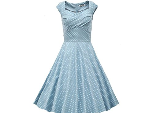 piazza-di-vendita-caldi-ycmdm-estate-delle-donne-collare-fashion-dress-gonna-a-vita-retro-punto-dell