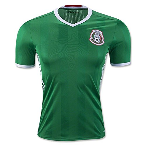 2018 FIFA World Cup Mexiko DIY Namen und Zahlen Home National Football Soccer Jersey in Grün Größe L grün - grün (World Cup Mexico)