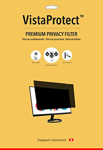 VistaProtect Premium Privacy computer screen sift Protector for Computer Monitors 23 inches computer screen Filters