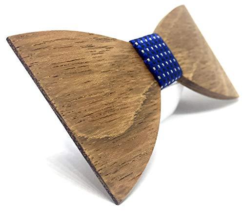 Preisvergleich Produktbild Marachic Holzfliege,  HANDGEFERTIGT FLIEGE aus hochwertigem Holz zur Hochzeit oder lässig zu einer Party,  Designer Herren Handgearbeitete Schleife Querbinder,  Hölzerne Krawatte Natürliche Mode