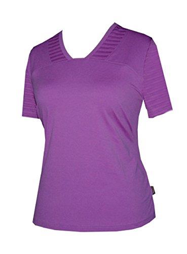 Schneider Sportswear Damen Leonie Shirt Pulli T-Shirt hyazinth