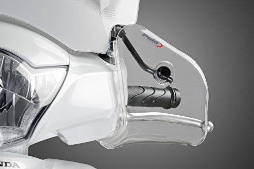PUIG - 6855W : Juego manoplas cubre manos scooter unive color TRANSPARENTE...