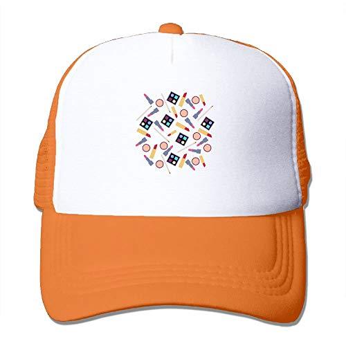 Sports Baseball Caps Makeup Tools Adjustable Trucker Sun Hats for Running Outdoor hanging cosmetic bag Baseball-cap-tool