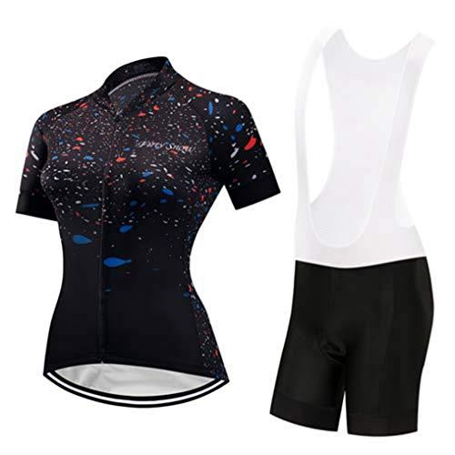 Maglia da ciclismo per donna,magliette da ciclismo a manica corta,abbigliamento da ciclismo leggero e traspirante