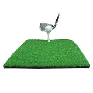 Balight Golf-Schlagmatte Golf-Trainingshilfen Gummi-Graswurzel-Golf-Chipping Driving Cutting Mat
