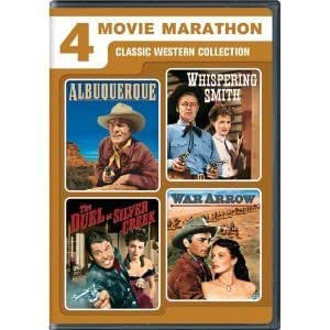 Albuquerque / Whispering Smith / War Arrow / The Duel at Silver Creek DVD Region 1 Western Special