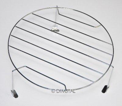 Grillrost für Mikrowelle mit 21 cm Durchmesser und Höhe 10 cm
