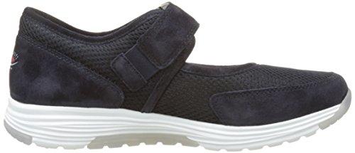 Gabor Damen Rollingsoft Sneaker Blau (ocean 46)