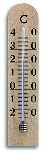 TFA 12.1005 Thermomètre d'intérieur en Bois