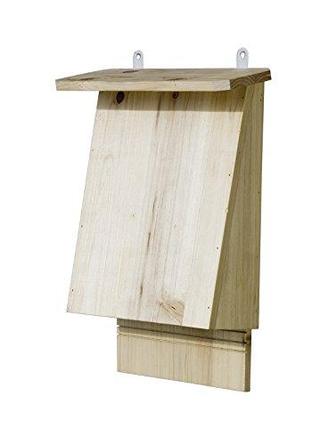 Windhager Vogelabwehr Fledermaushotel TRANSILVANIA, zum Schutz vieler Fledermausarten, Nistkasten Fledermaushaus braun, 06973