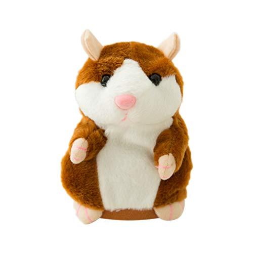 EisEyen Klein Hamster Plüschtier Wiederhole Plüsch Stofftier Sprechende Adorable Interessante Plüsch Spielzeug Baby Kinder