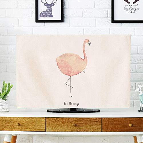Monitor Hülle, einfache Moderne TV-Abdeckung Wandbehang LCD-TV-Schutzhülle Gebogene Display-Staubschutzhülle-32Zoll-A