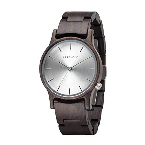 KERBHOLZ Holzuhr - Classics Collection Gitta analoge Quarz Uhr für Damen, Gehäuse...