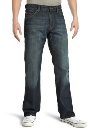 Wrangler Men's Roxboro Bootcut Jeans, Pure Dark Vintage, W32/L30
