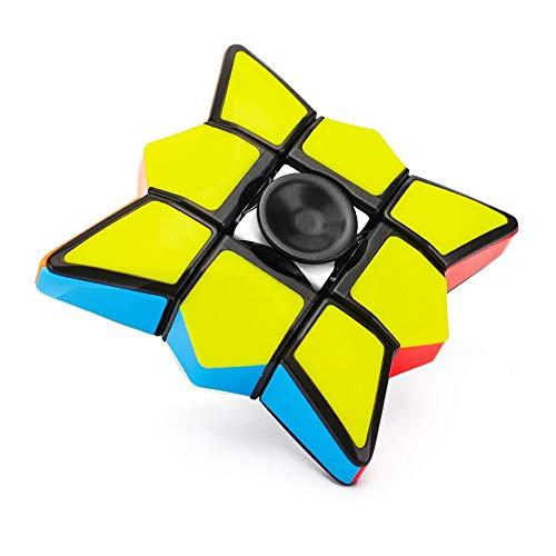 8a7dd98b2a29f3 Lenfesh Floppy Magic Cube Toys for Kids,1x3x3 Magic Rubiks Cube Puzzle  Spinner Training Focus