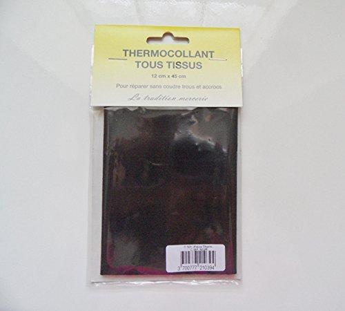 percale-tissu-thermocollant-patch-de-couleur-noir-12-x-45-cm-polyester-piece-de-reparation-tous-tiss