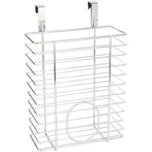 WENKO Einhängekorb, Organizer zum Einhängen an Schublade oder Schranktür, ohne Bohren, geeignet für Badezimmer und Küche…