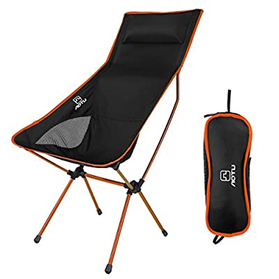 OUTAD Camping Folding Chair 330lb Capacity Lightweight Outdoor Portable Fishing Chair Hiking Fishing Picnic Beach Carry Bag from Butterfly