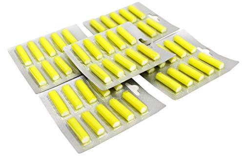 Spareftti 50 Zitronenduft Parfüm Staubsauger Numatic, Dyson, Miele, Panasonic, Electrolux-Staubsauger - passend für alle Staubsaugermodelle
