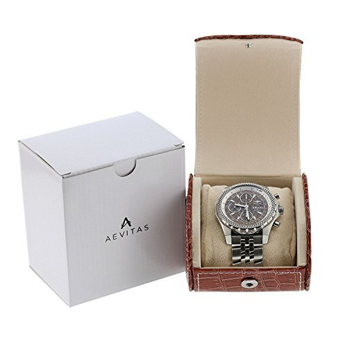 aevitas-qualite-superieure-montre-remontoir-marron-croco