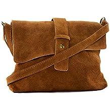 OH MY BAG Sac bandoulière Cuir porté épaule bandoulière et de travers Femmes en véritable cuir fabriqué en Italie - modèle BURANO