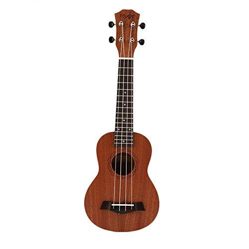 gfjfghfjfh 21 Pollici Soprano Acustico Elettrico Ukulele Chitarra 4 Corde Ukelele Guitarra Artigianale Legno Bianco Chitarrista Mogano Plug-in Hot