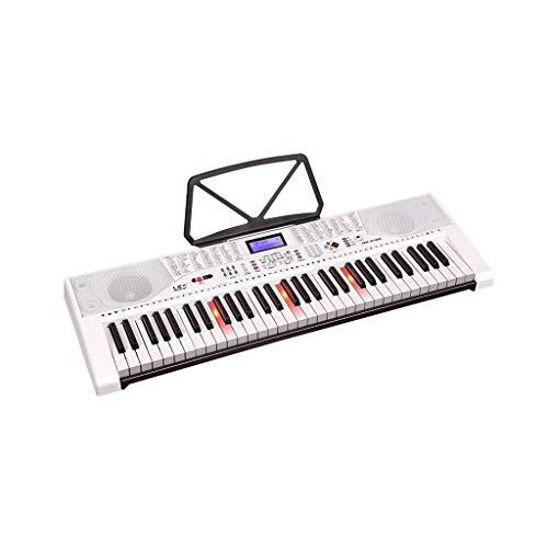 LIUFS-Tastatur Multifunktions-Keyboard Für Kinder, Das An Das Mikrofon-Headset Mit Dem Piano 61-Key Angeschlossen Ist (größe : Smart Version+Zither) (Für Headset-mikrofon Kinder)