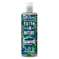 Faith in Nature Natural Tea Tree Body Wash, 400ml 30