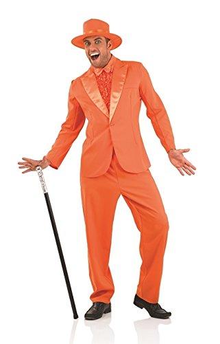 Dumm und Dümmer 1990s-Stecker Orange Kostüm-XL (46/48), EU (Dümmer Und Dümmer Kostüme)