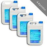 HSM 4 x AdBlue AD Blue Diesel Abgasreinigung Harnstofflösung 5 Liter Kanister