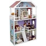 Perfecto Kidkraft Savannah Casa de muñecas Con Catorce Piezas De Tradicional Muebles (Para 3 Años Y Hasta) Juguete / Juego / Jugar / Niño / Niños