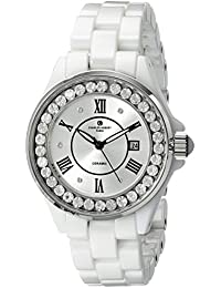 Charles-Hubert 2C Paris Charles-Hubert, Paris Women's 6903-W Premium Collection Analog Display Japanese Quartz White Watch