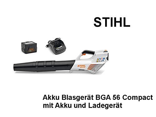 Akku Blasgerät STIHL BGA 56 Set mit Akku + Ladegerät