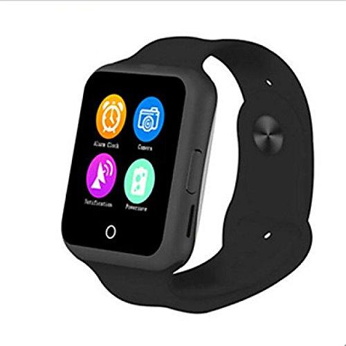 PDFGO D3 Smart Watch Bluetooth Cardia Con Frequenza Cardiaca MTK6261 Termometro Sistema Operativo Supportato: Android IOS,Black