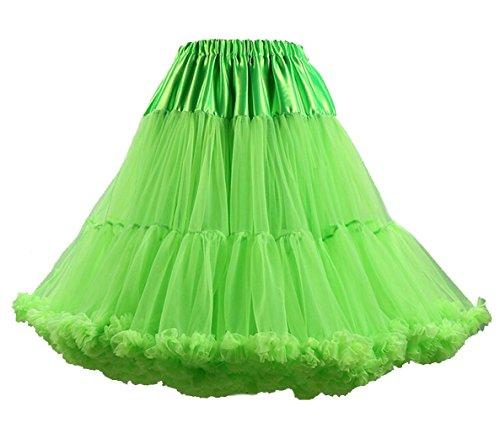 Brinny 50s 50er Retro Underskirt Swing Klassiker Mini Petticoat Fancy Net Tulle Unterrock Rocke Rockabilly Tutu Kostüm Princess Puff (Princess Tutu Kostüm)