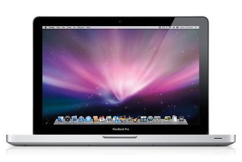 Apple MacBook Pro MB991D/A 33 cm (13 Zoll) Notebook (Intel Core 2 Duo  2.5GHz, 4GB RAM, 250GB HDD, Nvidia GeForce 9400M, DVD+- DL RW, Mac OS)