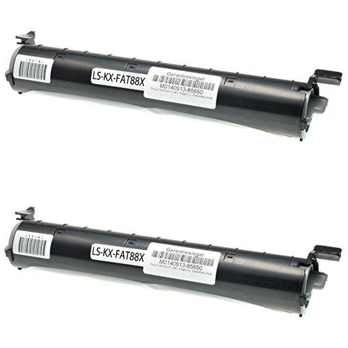 Preisvergleich Produktbild 2 Toner für Panasonix KX-FL 401 GW 402 403 411 412 413 421 GW 432 - KX-FA88X - Schwarz je 2000 Seiten