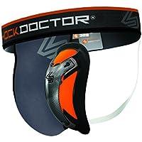 ShockDoctor Tiefschütz Herren mit Ultra Carbon Flex Cup - Entwickelt für den Kampfsport: Boxen, Karate, Taekwondo, Krav Maga, MMA, Muay Thai …